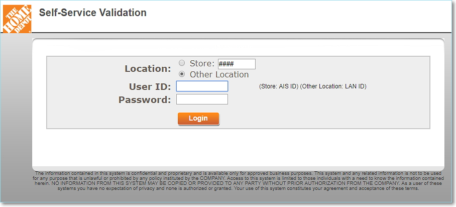 Home Depot Ess Login